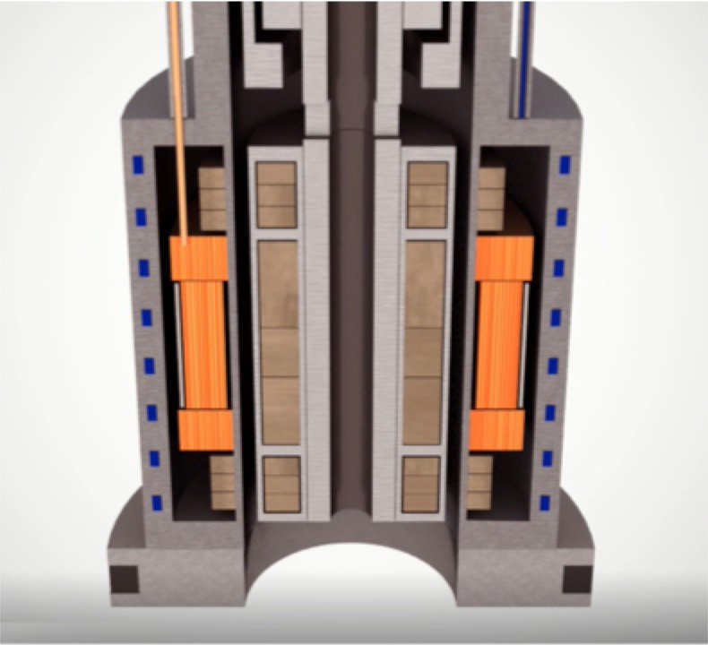 The Upwing Magnetic Drive System™ (MDS) flow through architecture